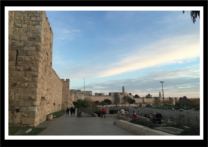 OLD CITY OFJERUSALEM WALL